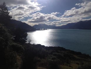Views of Lake Wakatipu